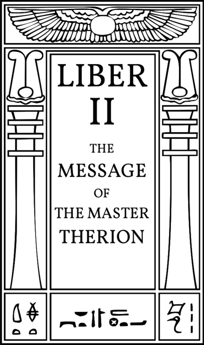 hermetic-library-crowley-liber-2-the-message-of-the-master-therion